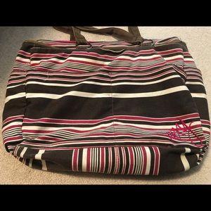 Roxy Striped Tote Bag